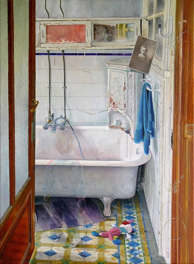 Oleo sobre lino 100 x 73 cm; Luis Gomez Feliu