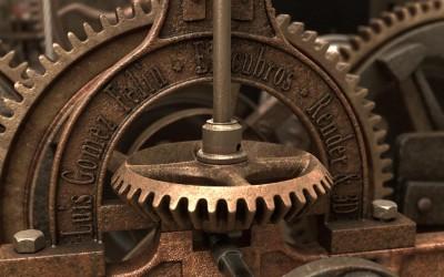 Maquinaria de reloj