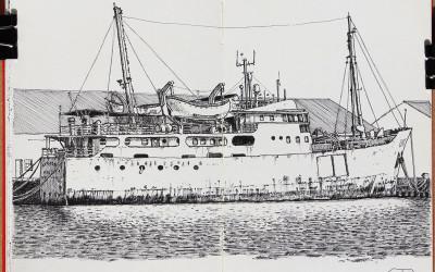 """Louisa, un buque """"cazatesoros"""""""