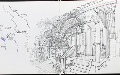 Otra veranda en el quinto pino