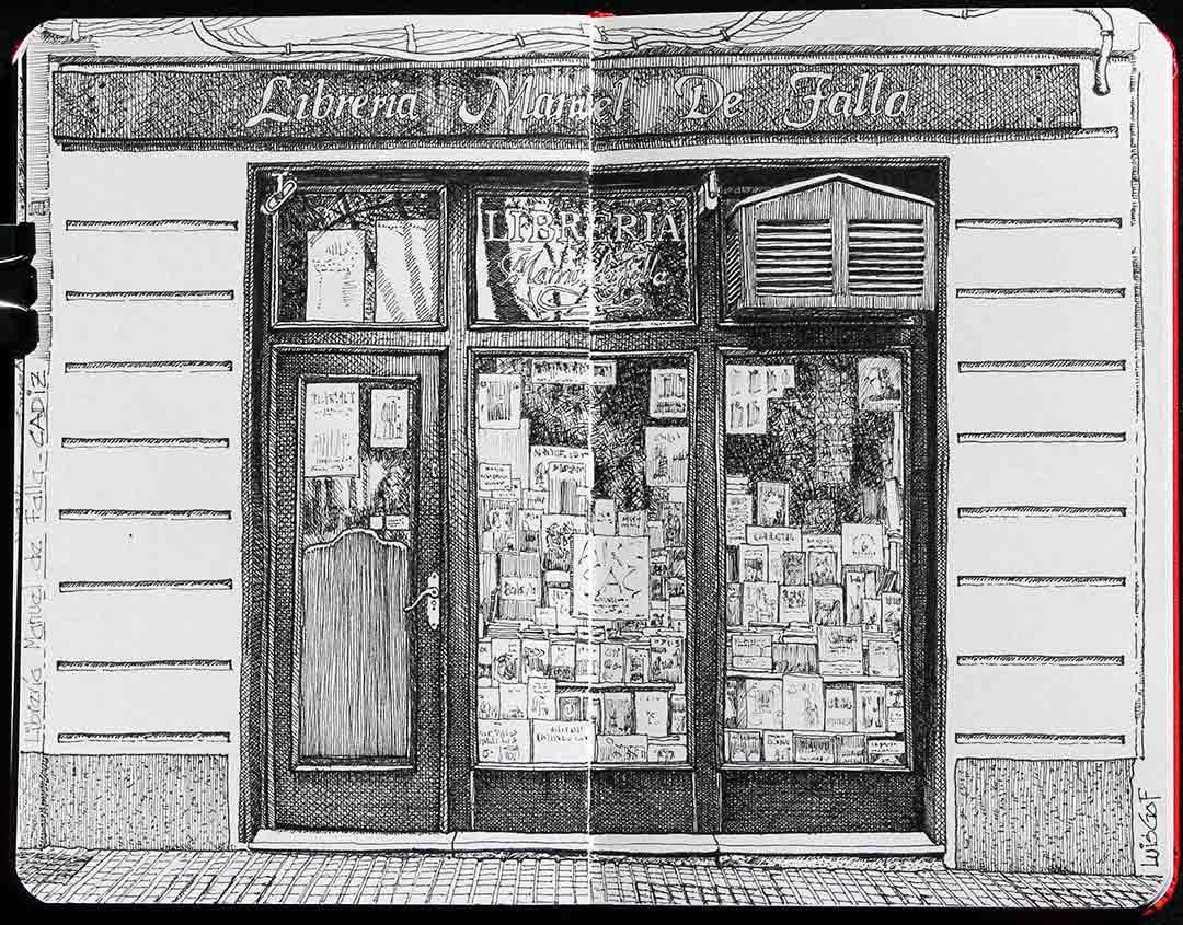Libreria Manuel de Falla