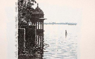 Lago Pichola. Udaipur. India.